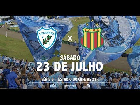Melhores momentos de Londrina 1x1 Sampaio Correia - 23/07/2016