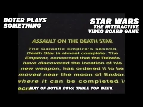 Boter Plays Star Wars: The Interactive Video Board Game: Tab