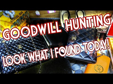GOODWILL HUNTING: HAUL, BAG REHAB, THE WORKS!