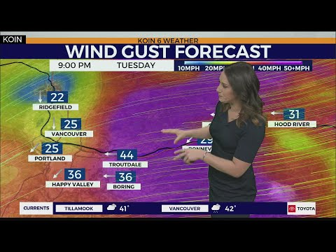 Weather Forecast: Heavy Snow And High Winds Will Continue To Impact Oregon Through Wednesday