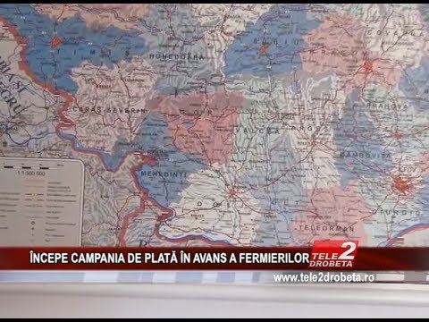 iNCEPE CAMPANIA DE PLATa iN AVANS A FERMIERILOR