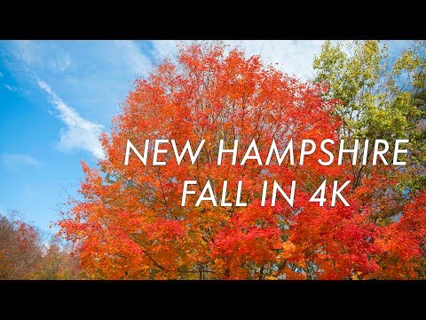 New Hampshire Fall Experience in 4k (Ultra HD)