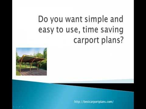 Carport Plans - How To Find The Best?