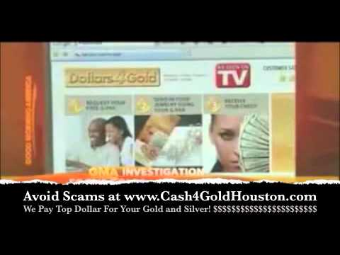 Avoid Cash4Gold Scams - Cash4Gold Houston Pays Top Dollar!