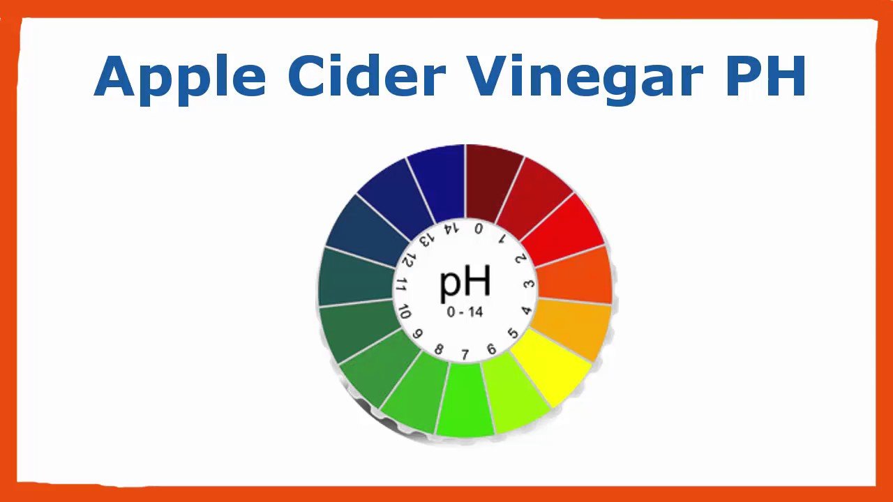 Apple cider vinegar ph - YouTube