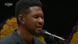 Download lagu Usher's Tribute to Kobe Bryant