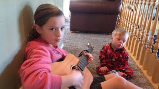 "Lydia sings to her Down Syndrome brother Bo ""you are my sunshine"" thumbnail"