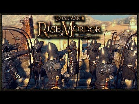 Legendary Siege Of Minas Tirith  Total War: Rise Of Mordor Gameplay