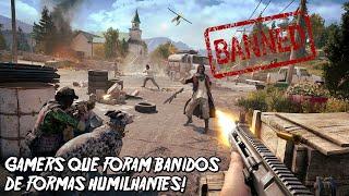 6 GAMERS QUE FORAM BANIDOS DOS JOGOS DE MANEIRAS HUMILHANTES!