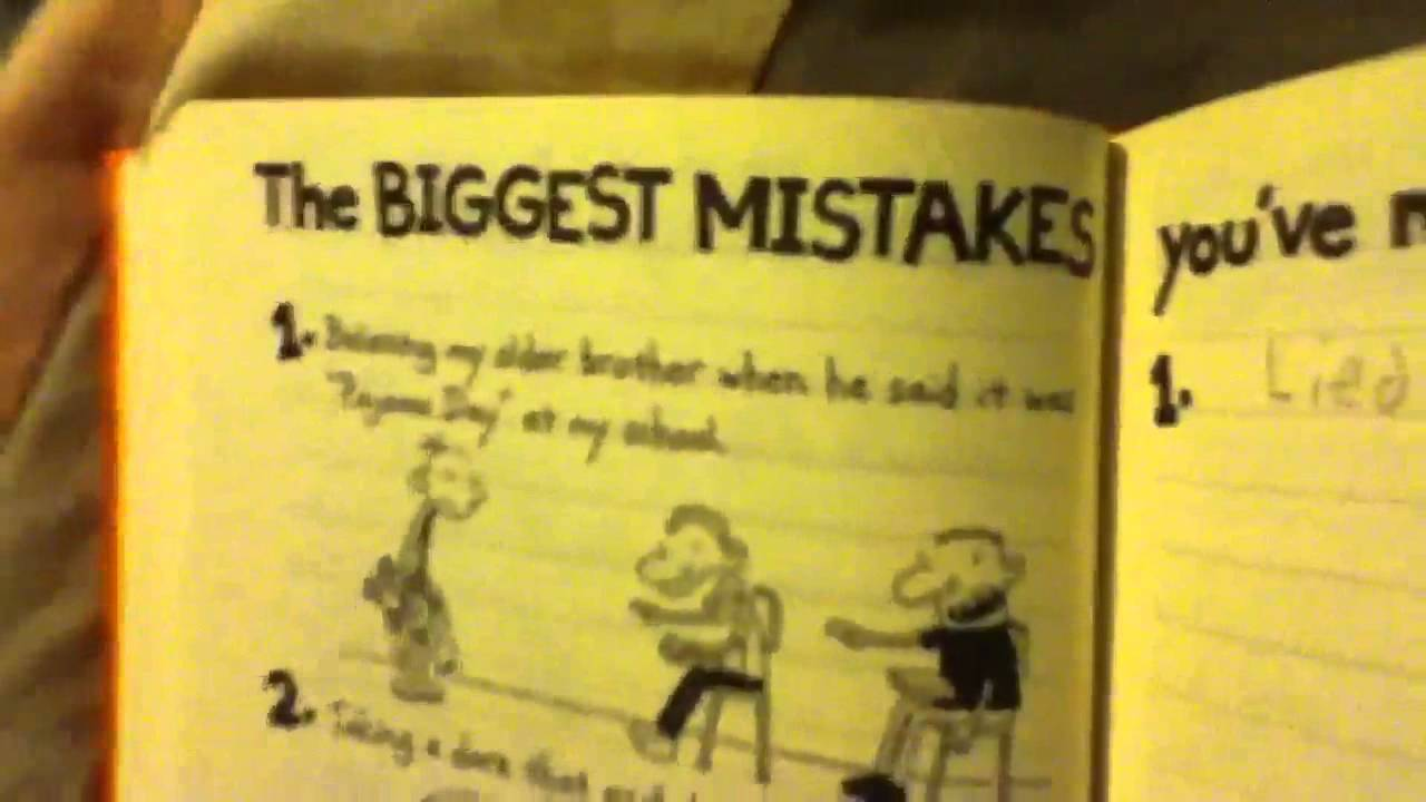 My diary of a wimpy kid do it yourself book youtube my diary of a wimpy kid do it yourself book solutioingenieria Choice Image
