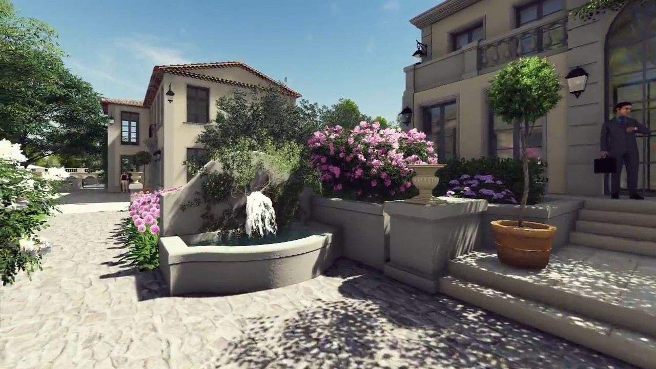Construction Aix En Provence presentation hÔtel villa saint ange
