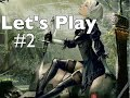 """Am I going to smack him with his arm?"" NieR Automata (Xbox One X) - Let's Play Pt. 2"