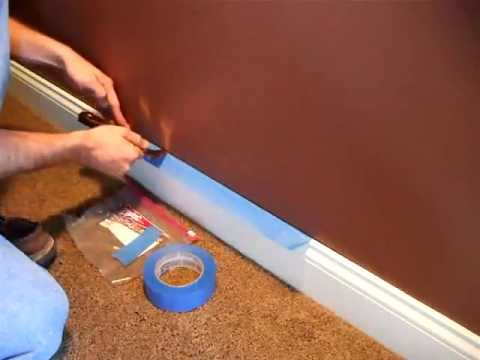 Painting How To Ly Masking Tape You
