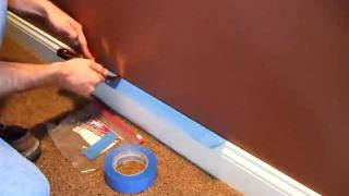 Painting - How to Apply Masking Tape