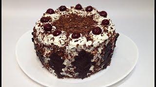 ШВАРЦВАЛЬДСКИЙ ТОРТ или ЧЁРНЫЙ ЛЕС (Black Forest cake )