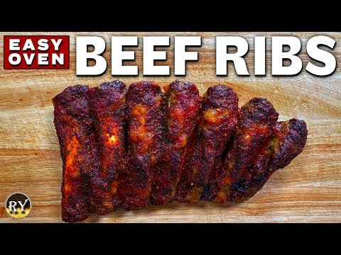 Easy Beef Back Ribs Made In The Oven