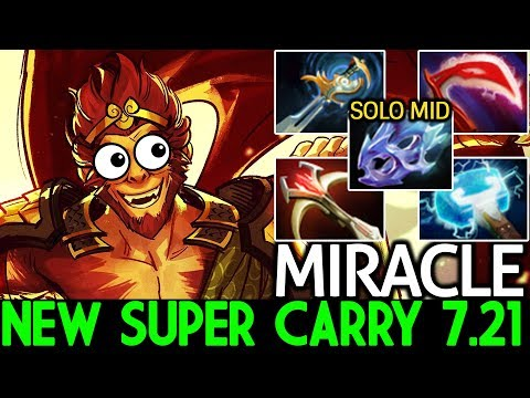 Miracle- [Monkey King] New Super Carry Meta 7.21 What a Game Dota 2 thumbnail