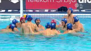 Serbia-Croatia.Waterpolo.Belgrad 2016