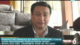 Palasyo: Pagdalo ng pangulo sa WEF, isang magandang pagkakataon upang mapalago ang ekonomiya
