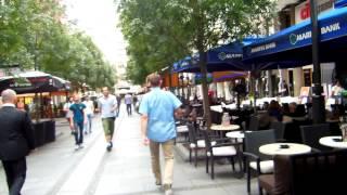 アキーラさん散策①旧ユーゴスラビア・セルビア・ベオグラード・共和国広場周辺通り!Around Republic Square,Belgrade,Serbia