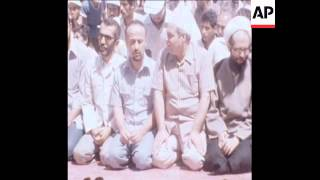 CUTS 1 9 80 NEW PRIME MINISTER RAJAI AT PRAYERS