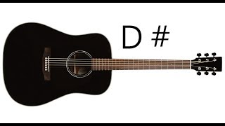 Basic Guitar Learn  D  Major  D