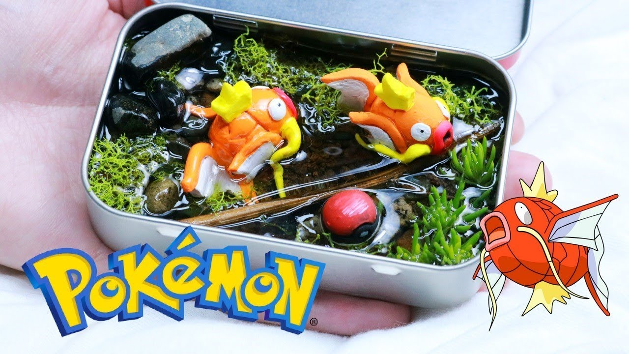 Pokemon Pocket Terrarium Diy Youtube