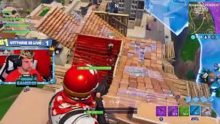 FORTNITE : real wins cicciogamer live of 10/06/2018