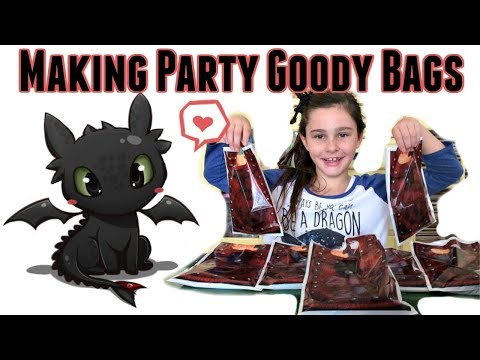 Prepping For Grace's 10th Birthday Party On July 30th | Making Party Goody Bags