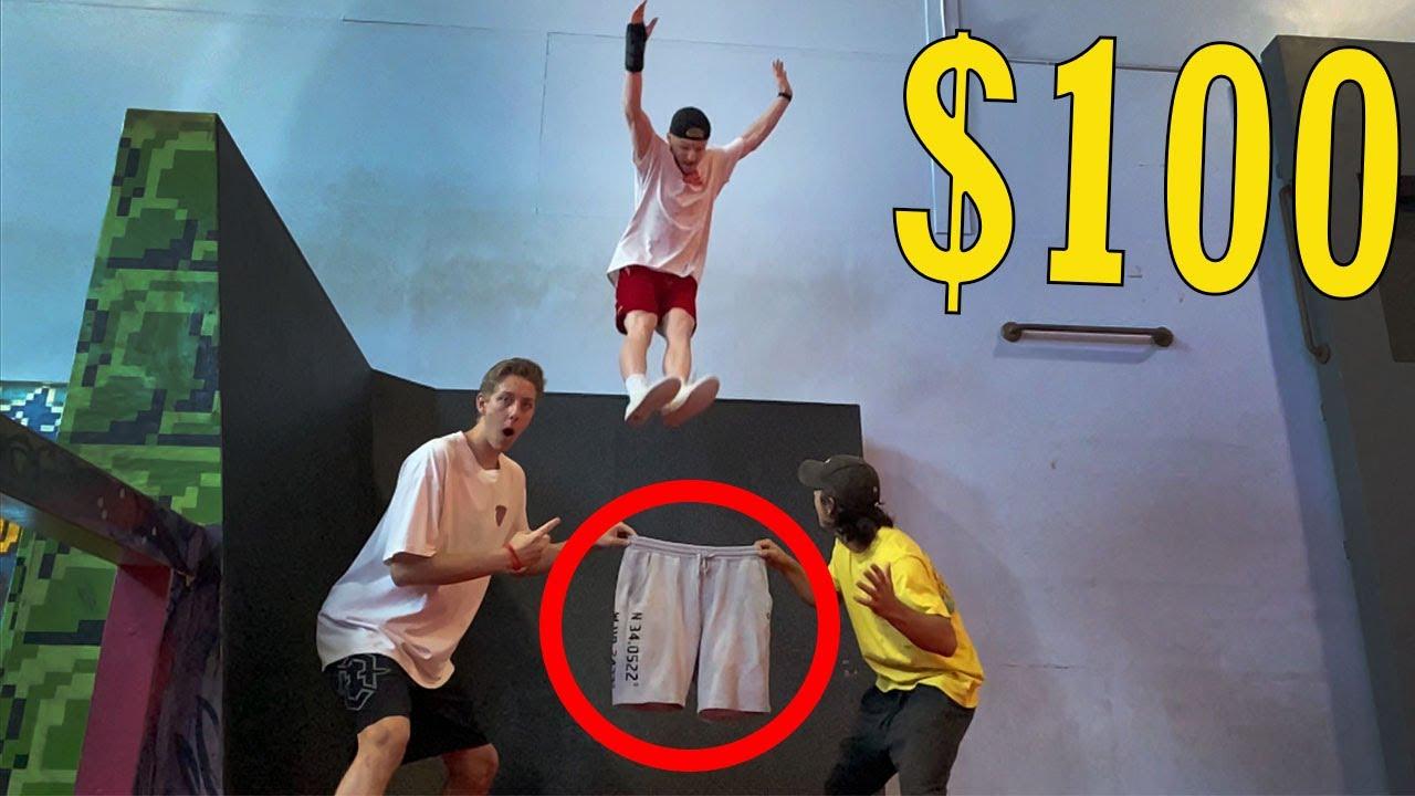 $100 Clothes Quick-Change Competition (Parkour Edition)