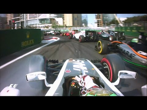2016 European Grand Prix | Gutierrez's First Lap At Baku