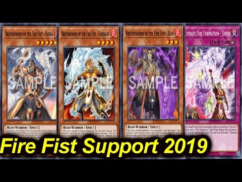 【YGOPRO】FIRE FIST NEW SUPPORT 2019