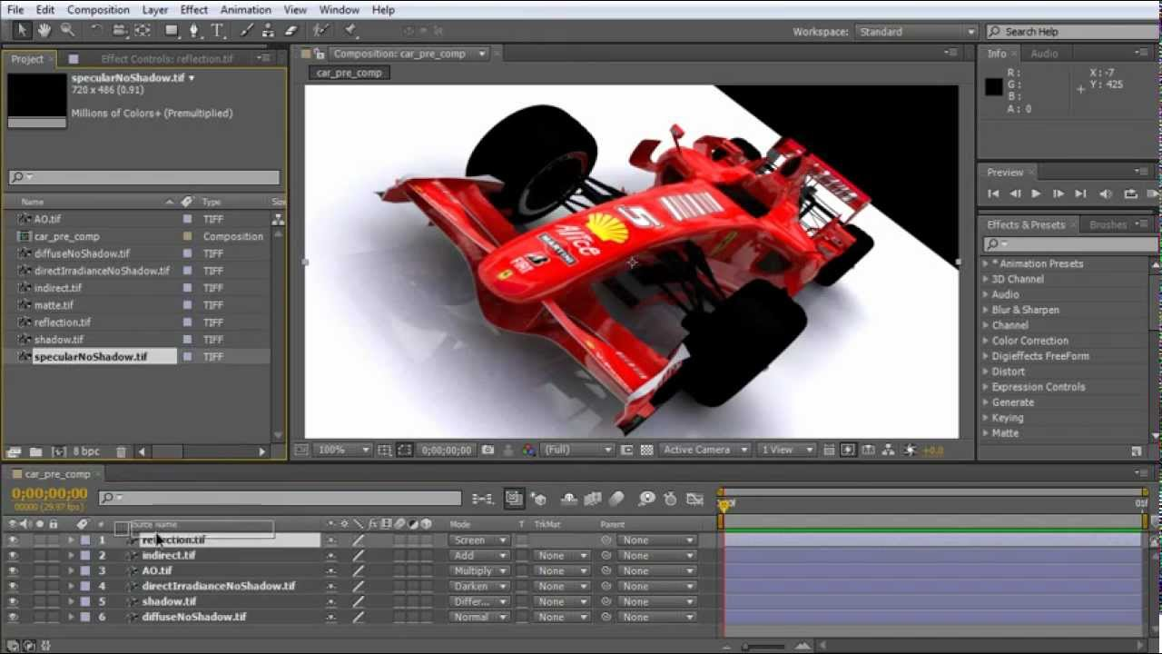 After effects tutorial: increase ram preview and rendering speeds.