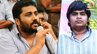 Gnanavel Raja clarifies why no red card issued for Karthik Subbaraj