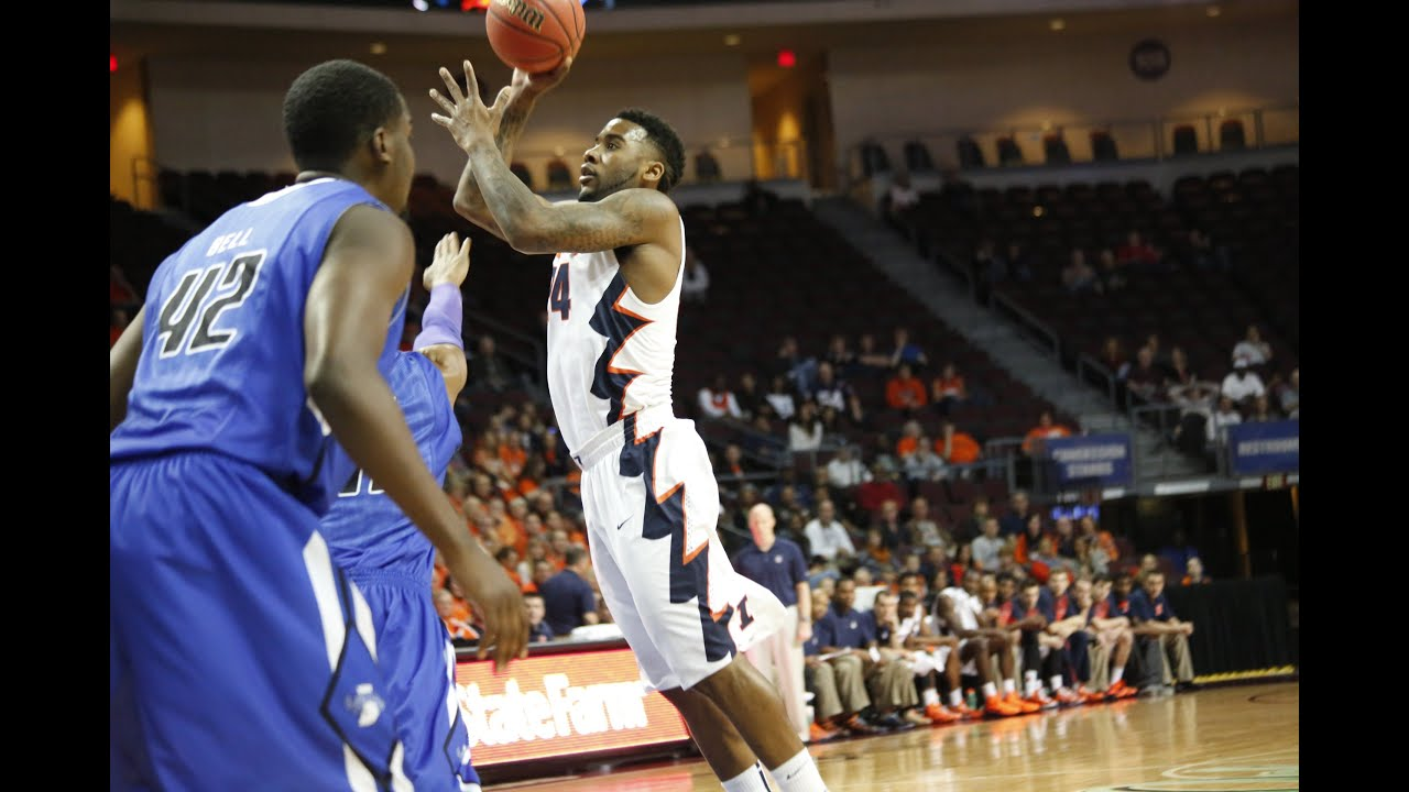 Illinois Basketball Highlights vs Indiana State 11/27/14 ...