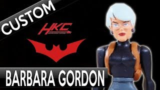 Custom Batman Beyond COMMISSIONER BARBARA GORDON action figure by Hunter Knight Customs