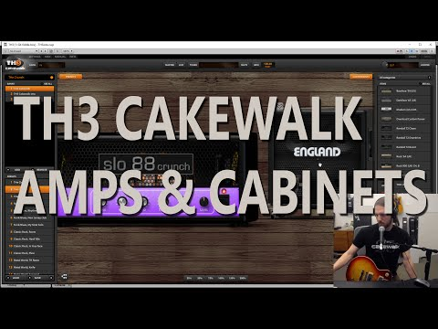 CakeTV Live 5 - TH3 Cakewalk Edition Part 2: Exploring Amps Cabinets and Microphones