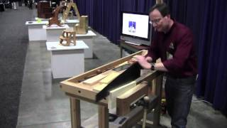 Resawing At Woodexpo 2012