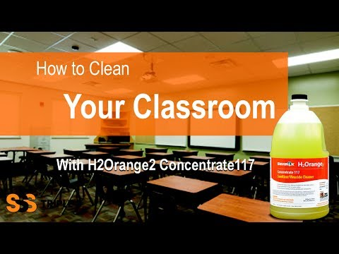 Cleaning your Classroom with Triple S and Envir0x