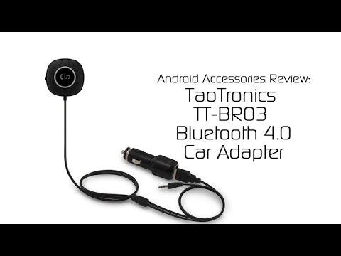 TaoTronics TT-BRO 3 Car Bluetooth Adapter with NFC – Android Accessories Review