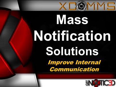Mass Notification Communication System http://www.xcommsdirect.com/mass-notification-system.html