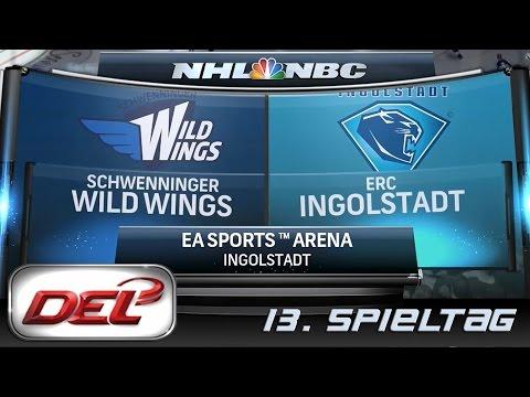 Deutsche Eishockey Liga [DEL] #013 - ERC Ingolstadt - Schwenningen Wild Wings ★ Let's Commentary