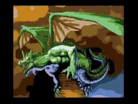 Myths and Dragons Msx2 + v9990. Starting with the wizard