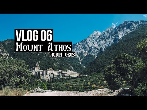 3 days in Mount Athos (September 2017)