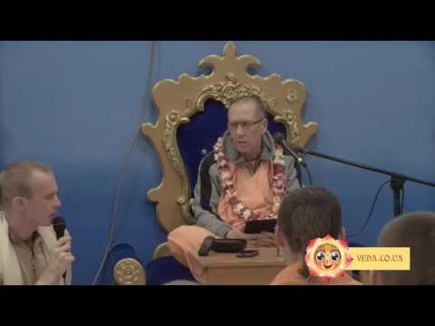 Шримад Бхагаватам 1.11.34 - Бхакти Вайбхава Свами