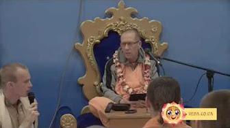 Шримад Бхагаватам 1.11.34 - Бхактивайбхава Свами