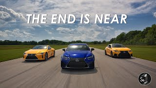 Lexus LC500 GSF and RCF | The End of the V8?