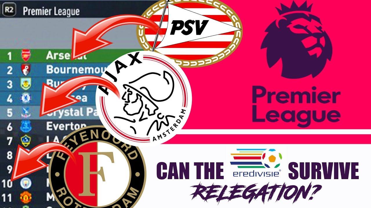 Ajax Psv Feyenoord In The Premier League Fifa 17 Experiment Weird Kim Chi Forfeit Youtube