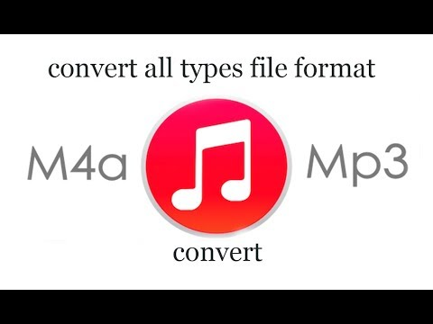 convert m4a to mp3