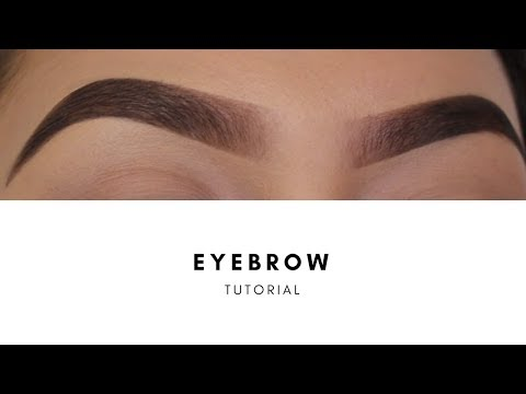 TUTORIAL: HOW I FILL IN MY EYEBROWS